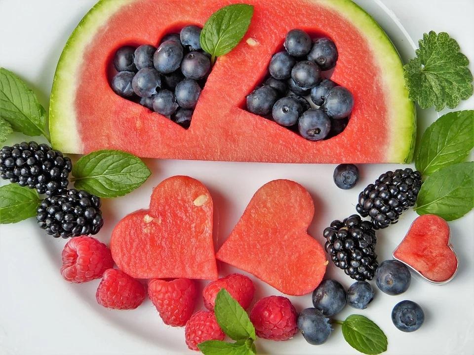 Meloun a další ovoce