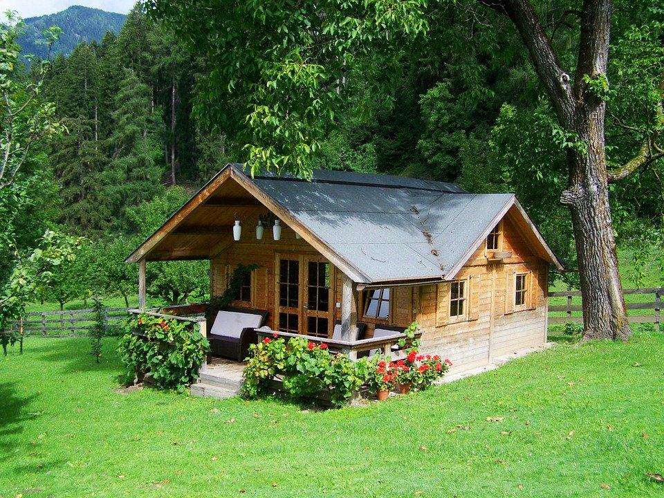 dřevěný domek