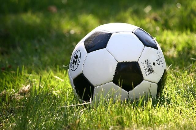 bíločerný míč
