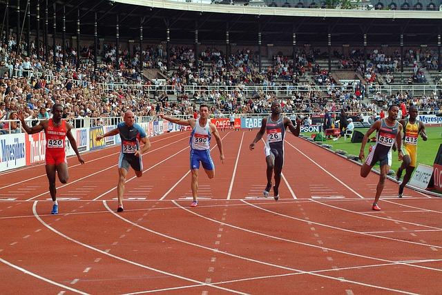stadion a sprinteři